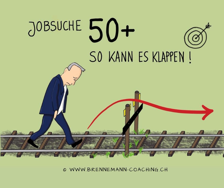 Jobsuche 50plus - So kann es klappen - ©brennemann-coaching.ch