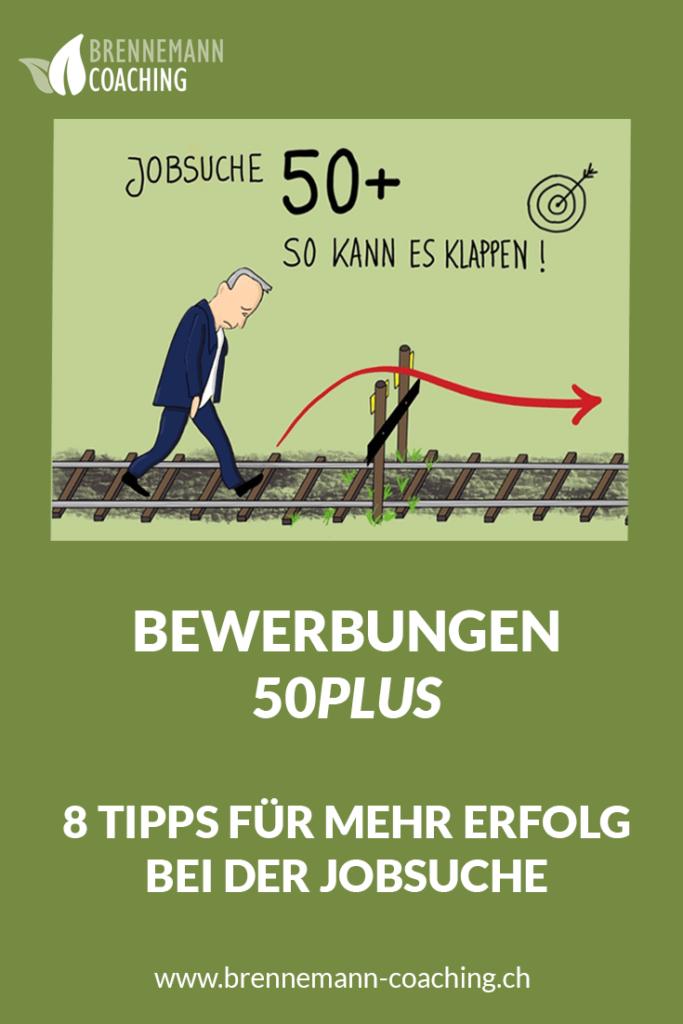 Bewerbung 50plus - Pinterest Bild