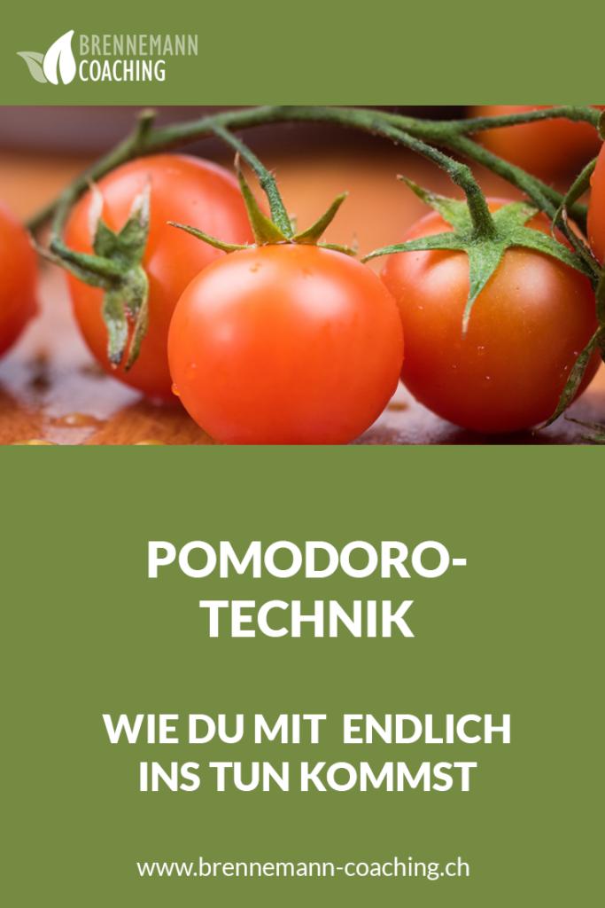 Pomodoro-Technik - Pinterest Bild