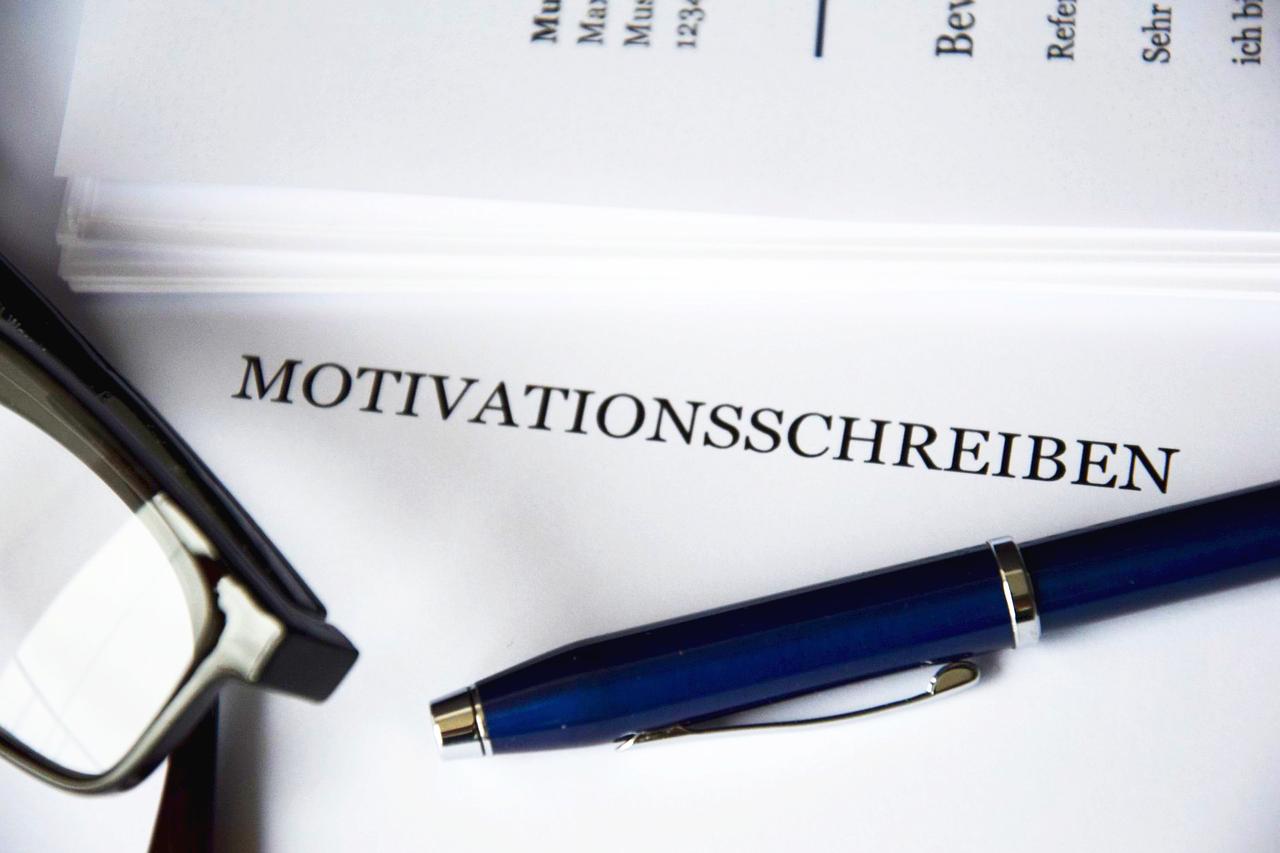 Bewerbung - Motivationsschreiben - Bewerbungsschreiben